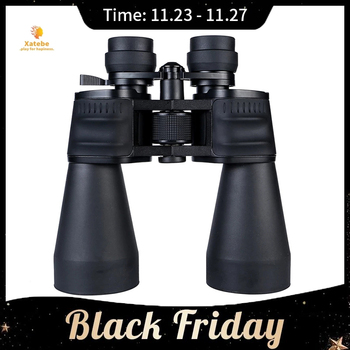 Night Vision Outdoor Telescope Binoculars High Power Adjustable 20-180x100 Zoom Binoculars Professional Binocular Light wildgameplus wg500b 1080p hd night vision binoculars optical 10 8x31 zoom digital night vision binocular hunting telescope night