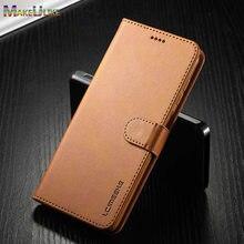 Etui z klapką portfel etui do Samsung Galaxy A12 A42 A52 A72 5G A01 A02 A02S A31 A41 A51 A71 A81 A91 A11 przypadku luksusowe skórzane zwykły pokrywa