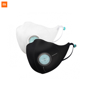 Image 1 - Xiaomi Mijia Airpop Light 360 Degree Air Wear Face Masks PM2.5 Anti haze Adjustable Ear Hanging Double Protection for Smart home