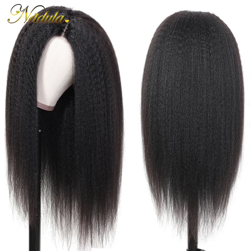 Nadula Hair 13x4/13x6 Lace Wig  Wigs With Lace Front    Hair Kinky Straight Wig With Baby Hair 3