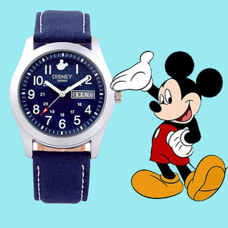 Disney Children Kids Mickey Watch School Students Boys Waterproof Nightlight Watches Reloj Mujer Relogio Dropshipping Bracelet