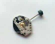 Movimiento de reloj de cuarzo, 2 manos con vástago ajustable, pero sin batería, pieza de reparación, accesorios, nueva onda 1062