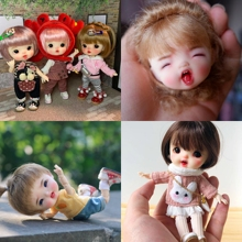Nouveau sucre poupées Ob11 poupées 1/8 personnalisation BJD poupées maquillage à réaliser soi même poupée et tête OB poupée