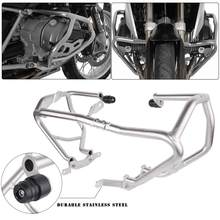 Lagere Engine Guard Voor BMW R1200GS Crash Bar Bumper Snelweg Frame Protector R 1200GS 1200 GS 2018 2017 2016 2015 2014 2013(China)