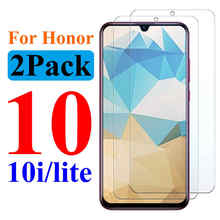 Protective Glass On The For Huawei Honor 10lite light 10 lite honor10 Screen Protector Huawey Hawei Huavei Tempered Glas Film(China)