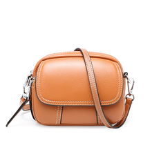 Genuine Leather Crossbody Bags For Women 2020 Casual Small Ladies Flap Shoulder Bag Cell Phone Bags Female Clutch Bag Purse