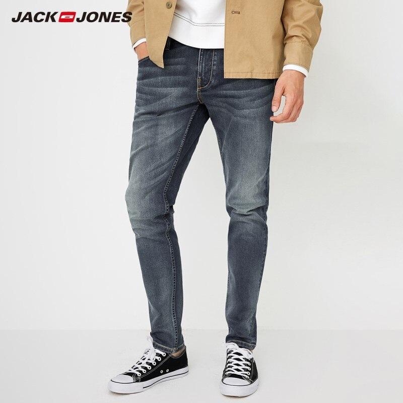 JackJones Fashion trend low-crotch slim fit comfortable men's autumn   jeans   218332586