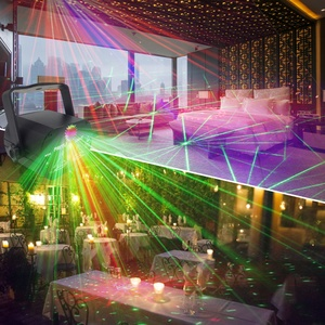 Image 5 - Mini RGB Disco Light Effect LED Stage Laser Projector Red Blue Green Lamp USB Rechargeable Wedding Birthday Party Light