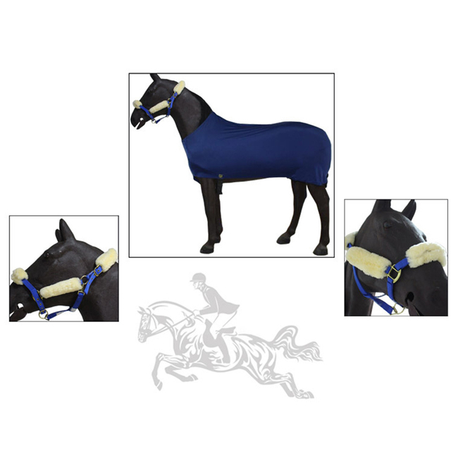 Super Comfortable - Wool Horse Halters - Noseband Covers For Halters  2