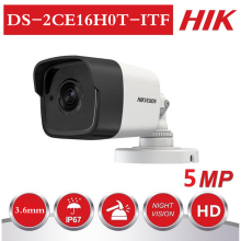Hikvision ds 5MP TVI / AHD / CVI / CVBS 4 IN 1 Analog Bullet Camera DS-2CE16H0T-ITF 5Megapixel CCTV Camera system