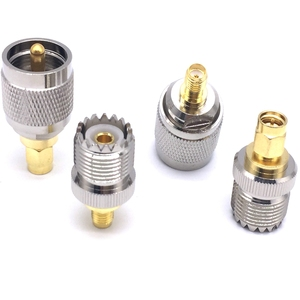 The factory sales 4pcs/set UHF PL259 SO239 to SMA male Plug female Jack RF connector 4 type Test converter fast ship
