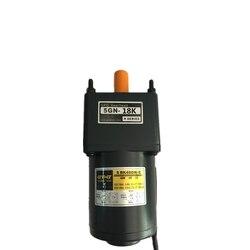 220v ac silnik reduktora biegów 5RK40GN-C/5GN-18K 40w 60hz z głowica przekładni regulowana prędkość
