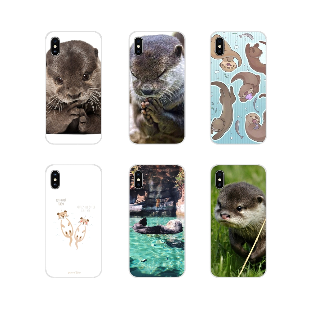 Für Oneplus 3T 5T 6T <font><b>Nokia</b></font> 2 3 5 6 8 9 <font><b>230</b></font> 3310 2,1 3,1 5,1 7 Plus 2017 2018 Tier Nette Baby Otter Muster Telefon Fall Protector image