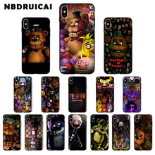 Nbdruicai cinco noites no freddy fnaf freddy caixa do telefone de alta qualidade para o iphone 11 pro xs max 8 7 6 s plus x 5 5S se xr caso(China)