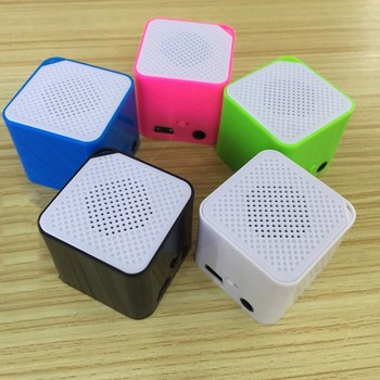 5 Colors Protable Digital USB MP3 Music Player SD TF Card Ultra Thin Slim Square MP3 Media Player Music Wholesale image