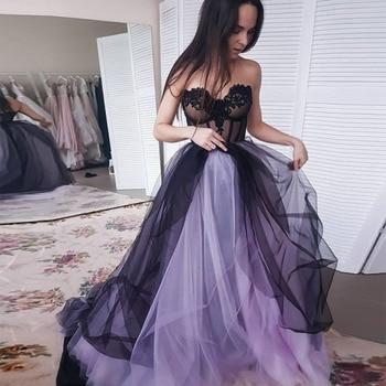 vestido de festa 2020 African Formal Prom Dresses Tull Dress Long Princess graduation Gowns plus size formatura