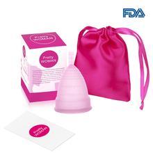 Менструальная чашка из медицинского силикона, Женская гигиена, Женская чашка, Женская чашка, копа, менструальная копа, менструальная De Silicona Medica