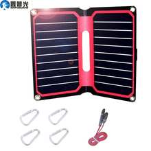 Xinpuguang 10W 5V Foldable Solar Panel ETFE waterproof USB Flexible Charger for home mobile phone outdoor camping hiking travel new sport cycling water bag outdoor solar panel usb charger bicycle hydration backpack for mobile phone camping travel knapsack