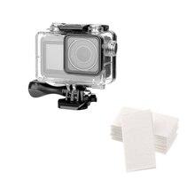 60M 방수 케이스 액션 카메라 다이빙 프레임 하우징 보호 커버 dji osmo 액션 카메라 액세서리