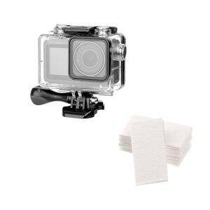 Image 1 - 60M עמיד למים מקרה פעולה מצלמה צלילה מסגרת הגנת דיור כיסוי עבור dji אוסמו פעולה מצלמה אבזרים