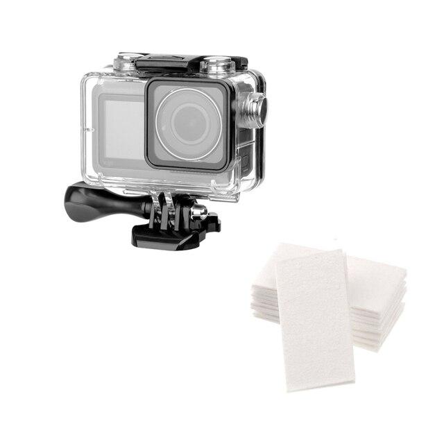 60M עמיד למים מקרה פעולה מצלמה צלילה מסגרת הגנת דיור כיסוי עבור dji אוסמו פעולה מצלמה אבזרים