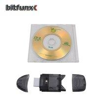 Voor DC Dreamcast Mini SD T Flash TF SDHC USB Geheugenkaartlezer en Mini CD R Disc 215MB