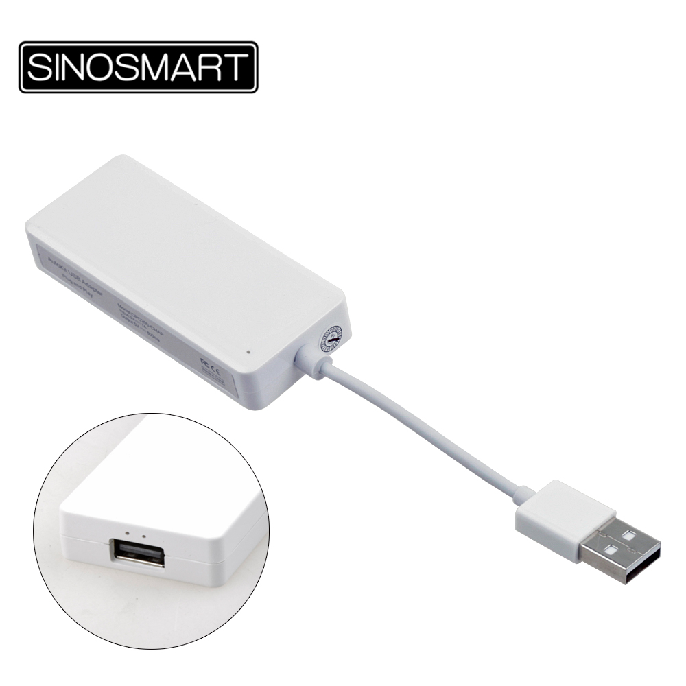 SINOSMART Wired USB Link Apple CarPlay Android Auto Mini USB Dongle/Stick For Android Navigation Player