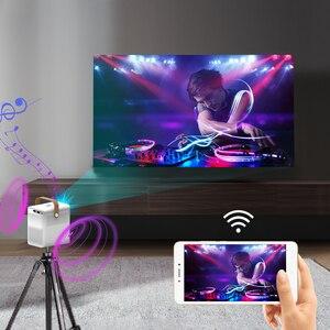 Image 4 - CRENOVA جهاز عرض صغير ET30S 1080P كامل HD أندرويد واي فاي ثلاثية الأبعاد المحمولة القاذف السينما المنزلية دعم 4K LED عارض فيديو المنزل