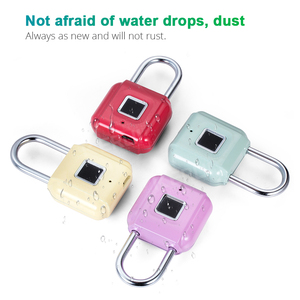 Image 5 - KERUI Smart Keyless Fingerprint Padlock Wireless Fingerprint Unlock USB Rechargeable Door Luggage Case lock