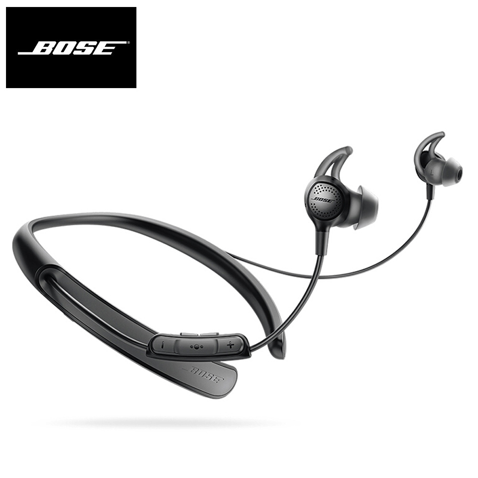 Bose QuietControl 30 Wireless Bluetooth Headphones QC30 Noise Cancellation Earphone Sport Headset Bass Earbuds with Mic image
