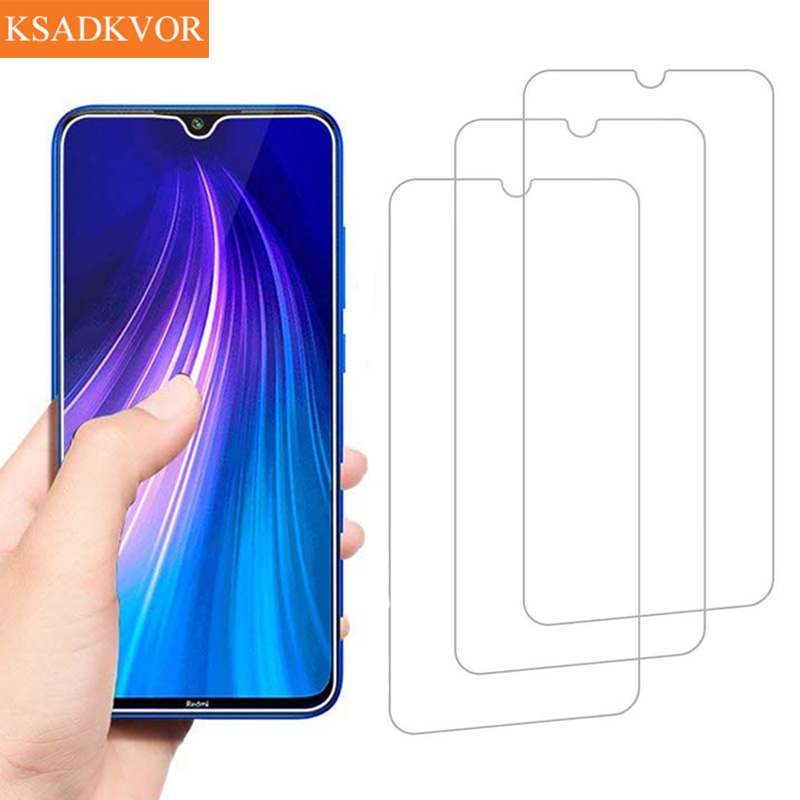 Screen Protector Tempered Glass On For Xiaomi Redmi Note 8 8T 7 6 Pro 6 6A For Redmi 8 Pro 6A Full Protective Glass Film