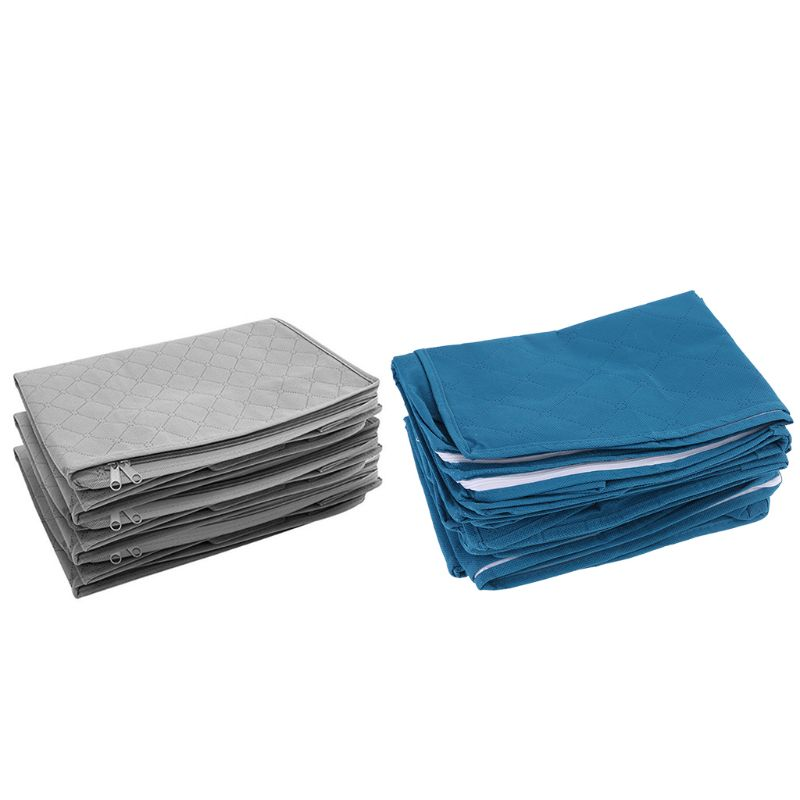 Foldable Storage Bag Organizers Great for Clothes Blankets Closets Bedrooms|Drawer Organizers| |  - title=