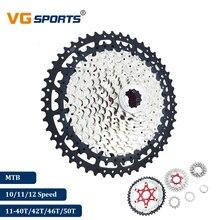 2019 VG спортивный горный велосипед 10 11 12 Скоростей велосипедная отдельная кассета MTB Сверхлегкая кассета Звездочка 40T 42T 46T 50T