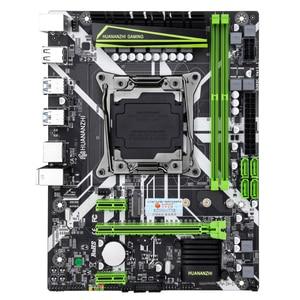 Image 2 - HUANANZHI X99 8M oyun anakart Intel X99 LGA 2011 3 E5 tüm serisi DDR4 RECC 64GB M.2 NVME USB3.0 ATX