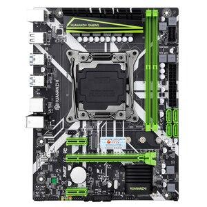Image 2 - Huananzhi X99 8MゲーミングマザーボードインテルX99 lga 2011 3 E5すべてシリーズDDR4 recc 64ギガバイトM.2 nvme USB3.0 atx