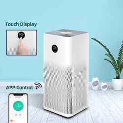 [Global Version] Air Purifier 3 Automatic Health Smart OLED Display Air Cleaner 400m3/h Smartphone APP and AI Control Household