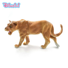 Artificial Lion Forest animal model Lifelike action figure home decor figurine Educational Gift For children plastic toy