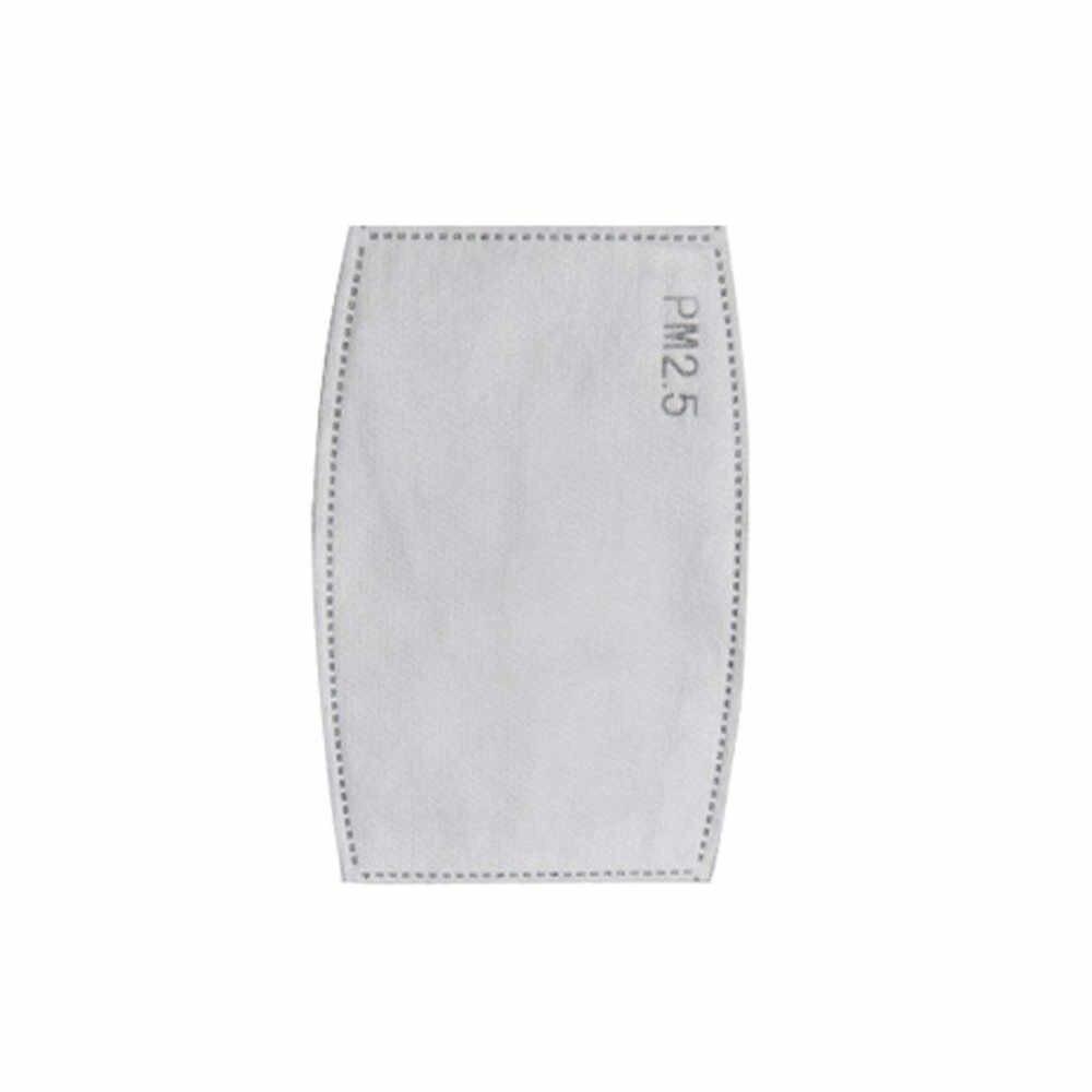 40 Uds PM2.5 N95 carbón activado 5 capas filtro mascarilla respiratoria inserto protector boca mascarilla filtro para niños y adultos # PY10