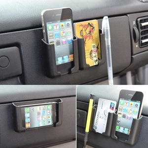 Car-Accessories Cell-Phone-Card-Holder Console Auto Stand 1pc Bracket-Box Cradle Adjustable
