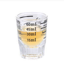 Glass Measuring-Cup Cocktail CNS Scale CTREE Thick 1pcs Bartender Ounce 30ml/60ml-Bar