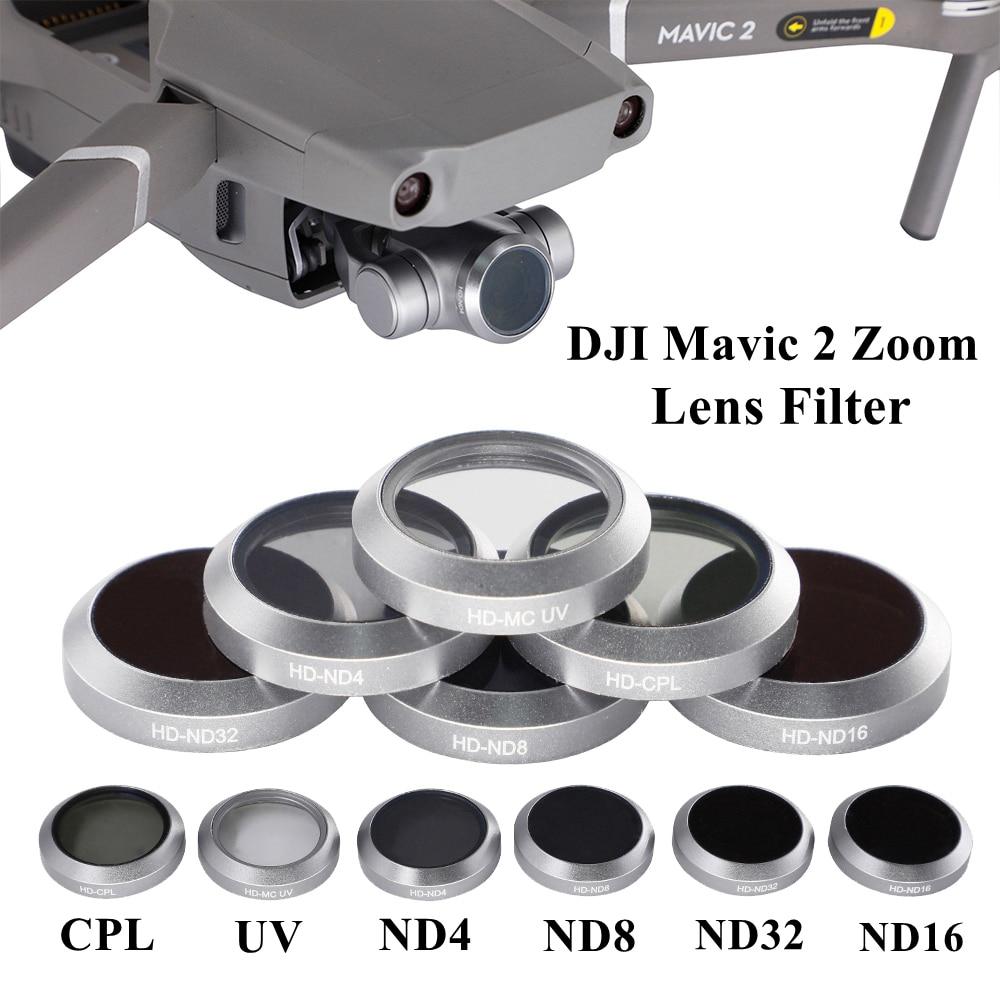 Купить объектив для беспилотника фильтр uv cpl nd4 nd8 nd16 nd32 стеклянный