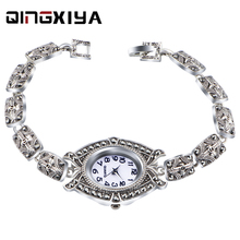 QINGXIYA Luxury Crysta Bracelet Women Watches Top Brand Fash