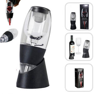New Hot Sale Fashion Wine Aerator Decanter Set Family Party Hotel Fast Aeration Pourer Wine Decanter Magical For Drop Shipping