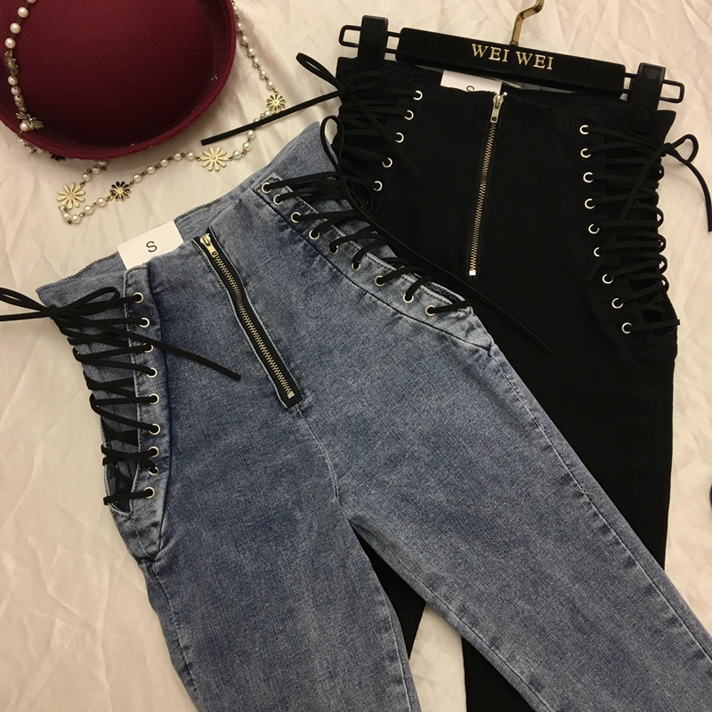 High Waist Sexy Skinny Pencil Jeans For Women Jeans Leggings Denim Pants Slim Female Trousers