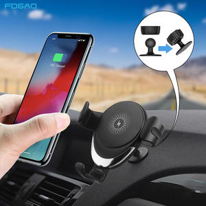 FDGAO Phone-Holder Car-Charger Wireless Charging-Stand Max-Phone S20 Fast For Samsung