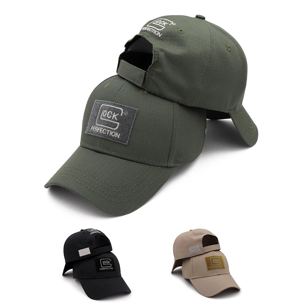 Tactical Shooting Glock Cap Hat Baseball Outdoor Sports Fishing Hunting Jungle