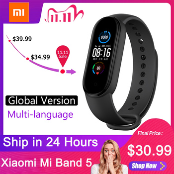 Xiaomi Mi Band 5 Global Version Smart watch 4 Color 1.1