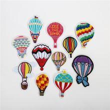 50 шт/лот горячий воздух воздушный шар Вышивка Патчи для комплекты