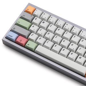 Image 5 - XDA Мел брелки PBT Due subbed 75 ключ для mx механическая клавиатура подходит TADA68 GK64 Porker GH60 DZ60