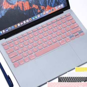 """Colorful Soft Silicone Keyboard Cover Sticker Film Protector For Apple Macbook Pro Air 13"""" 15"""" 17"""" Computer Accessories"""